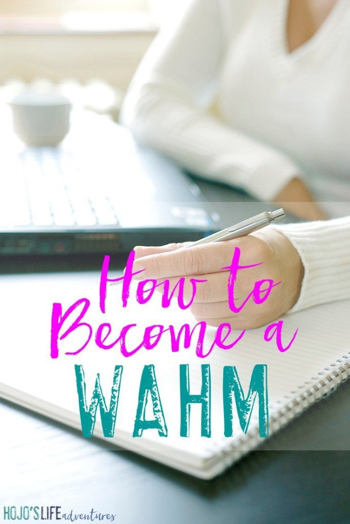How To Become A WAHM My Story