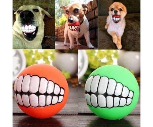 Fogas vicces labda kutyáknak. Szájba véve igen mókás játék