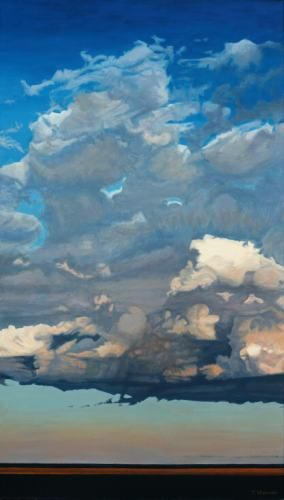 Tom Steinmann, Autumn Clouds Over North Beach - The Munson Gallery ☁