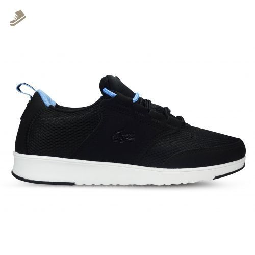 LACOSTE Womens Shoes L.IGHT 2016 1 SPW Black Sneakers (5.5 US) - Lacoste sneakers for women (*Amazon Partner-Link)
