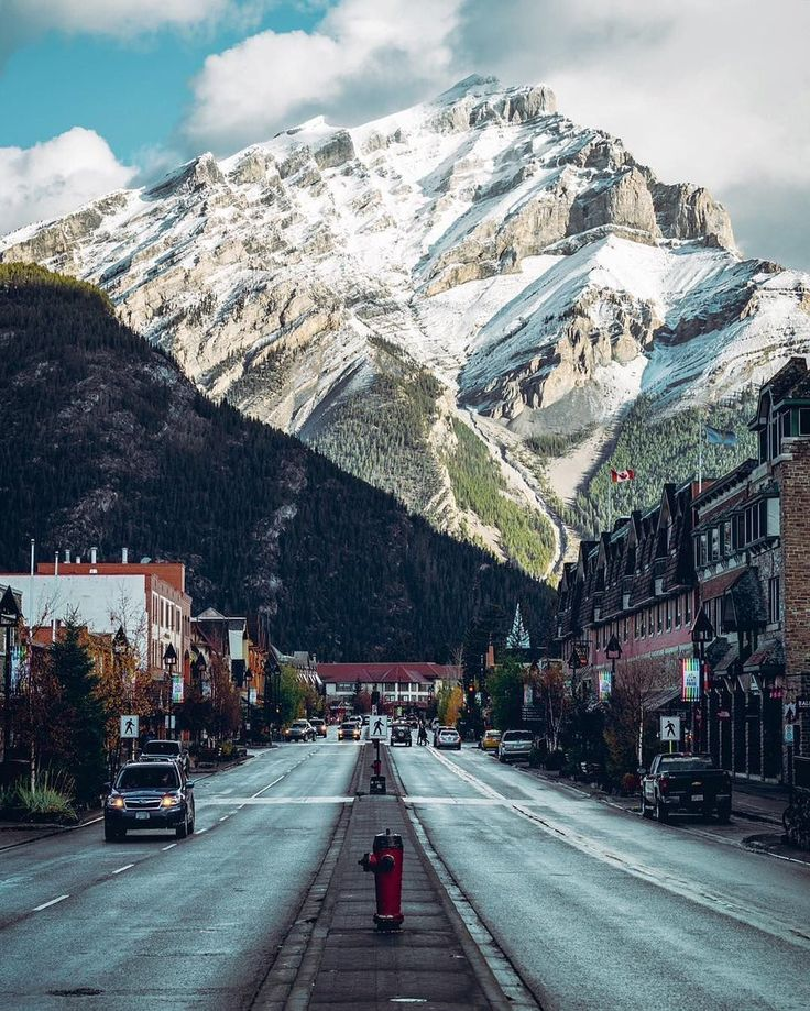 Banff, Alberta, Canada. - Imgur