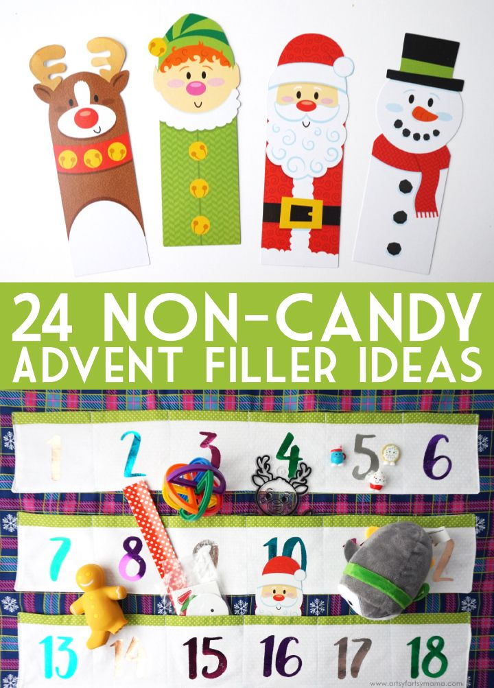 24 Non-Candy Advent Calendar Gift Ideas (With Images) Advent