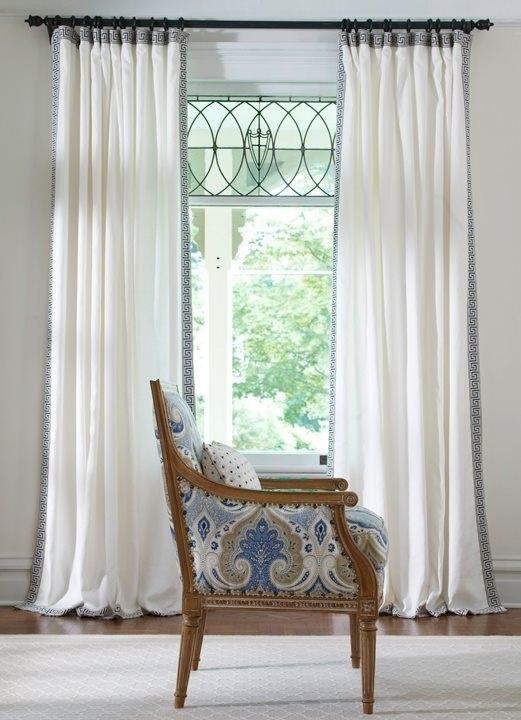 Ethan Allen - curtain trim
