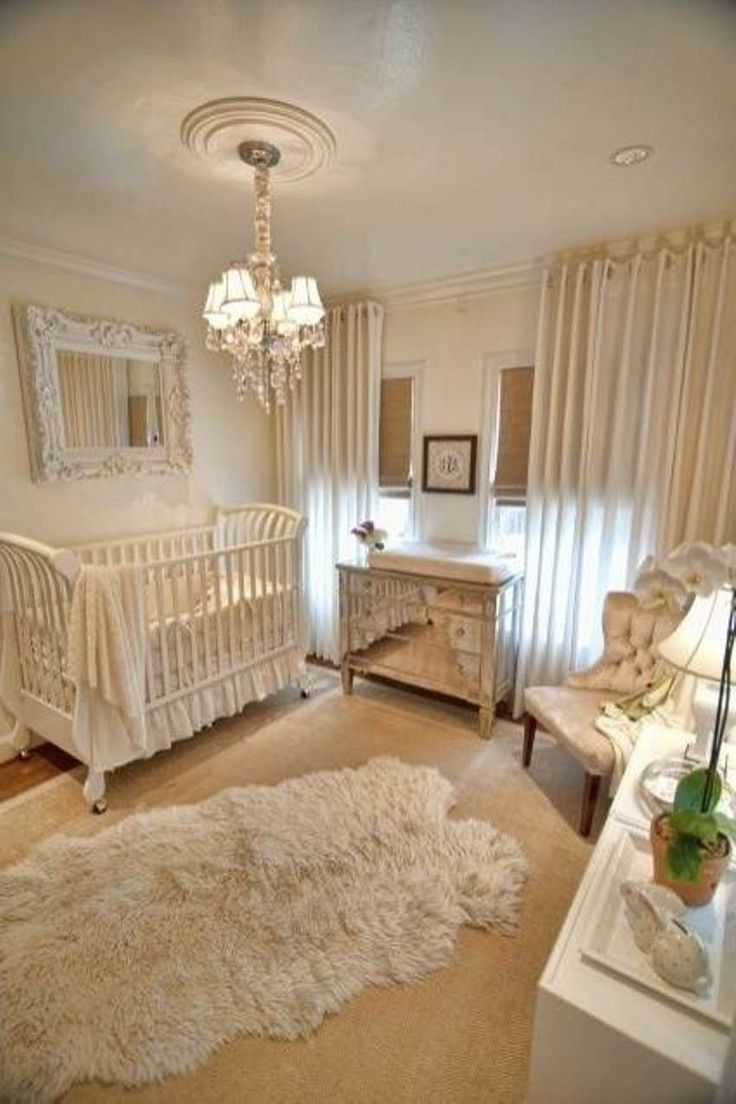 25 best ideas about elegant baby nursery on pinterest for Baby girl bedroom decoration