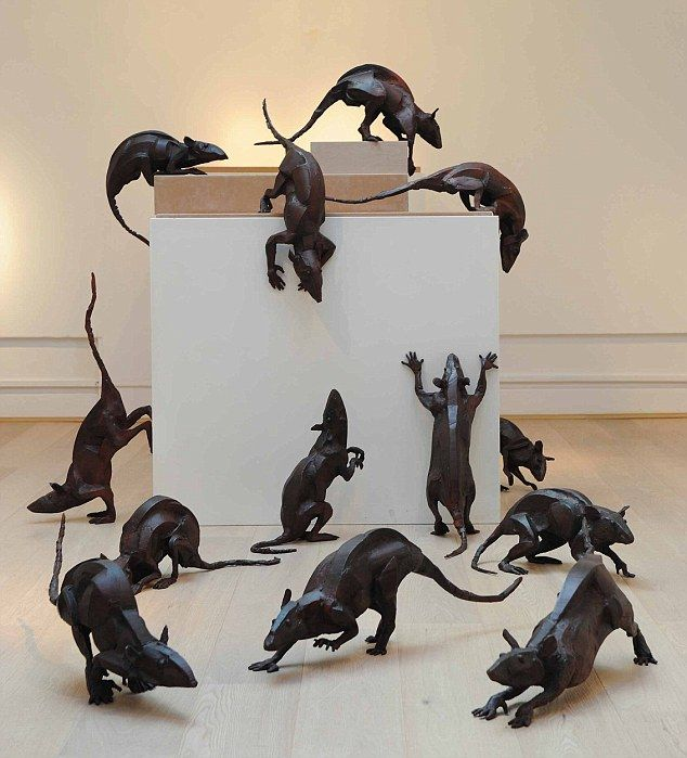 Rodin No It S Rodent Art By Dickens Descendants