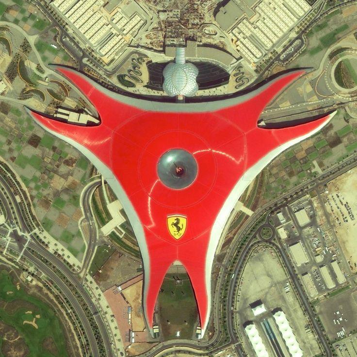 Ferrari World is an amusement park located