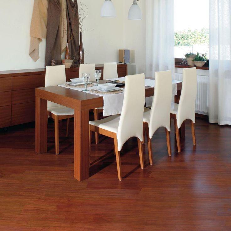 Brazilian Cherry Resilient Vinyl Plank Flooring