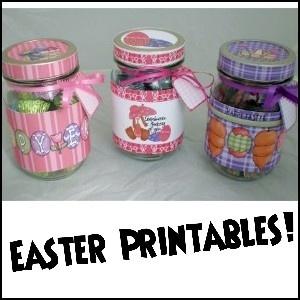 jar art wraps easter #printable $4.95 : Jar Art, Crafts Ideas, Jars Art, Easter Jars, Cute Ideas, Offices Gifts, Art Prints Cut Cr, Easter Printable, Printable Crafts