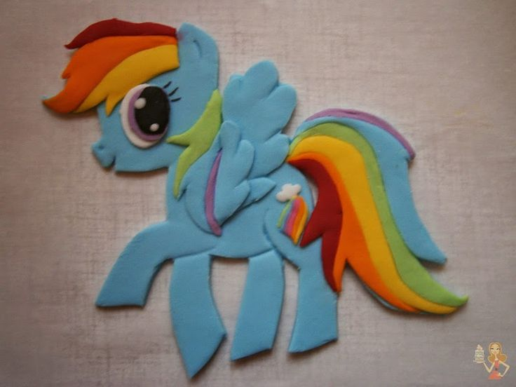 Make me a cake: My little pony - Rainbow Dash cake tutorial