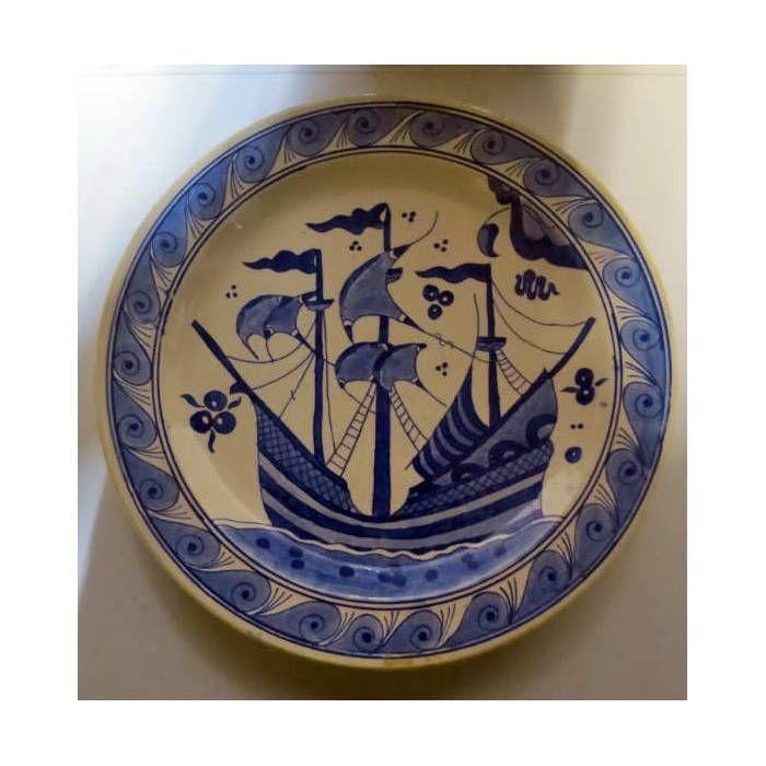 sıtkı usta tabak.A plate from Sıtkı Olçar