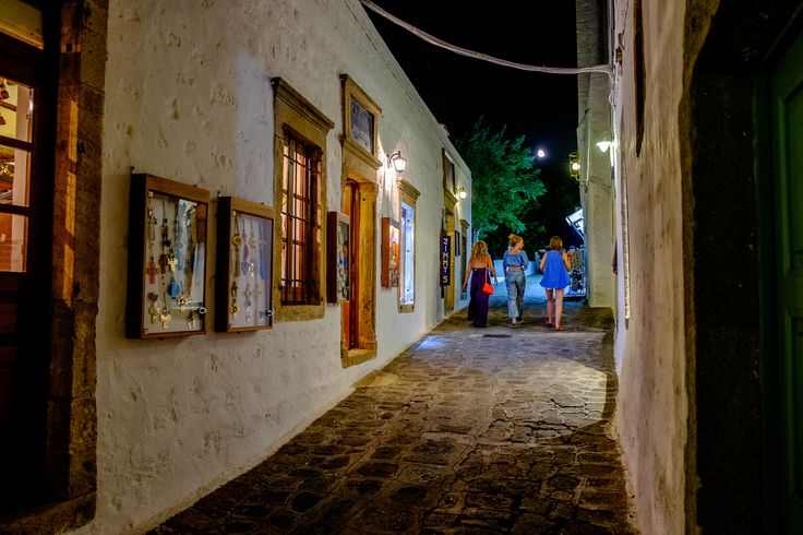 Walks the small streets of #Patmos. Photo by: @Ioannis D. Giannakopoulos on www.flickr.com