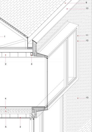 Working Detail: Yew Tree Lodge by Duggan Morris Architects   Design details   Architects Journal: