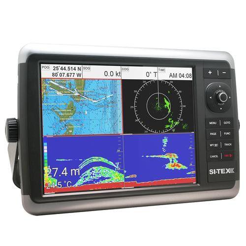 "Sitex NavStar 12CFR GPS Chart Plotter/Sonar/Radar System 12"" Color TouchScreen TFT XGA LCD w/Internal GPS Antenna"