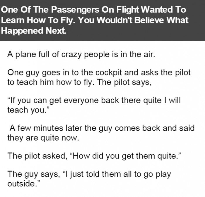 One Of The Passengers On Flight Wanted To Learn How To Fly. You Wouldn't Believe What Happened Next.