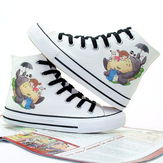 High Quality My Neighbor Totoro Shoes Best Presents for Men and Women Custom High Top Sneakers US Free Shipping