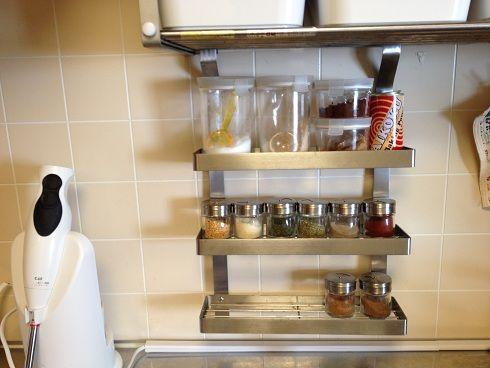 Ikeaのスパイスラック再び おひとりさまのシンプルライフ 楽天ブログ シンプルライフ スパイスラック シンプル