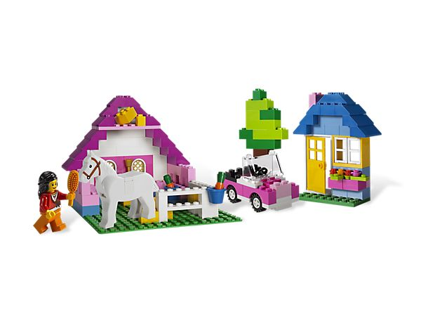 Lego Large Pink Brick Box (Item: 5560 Price: $29.99) For: Isabella