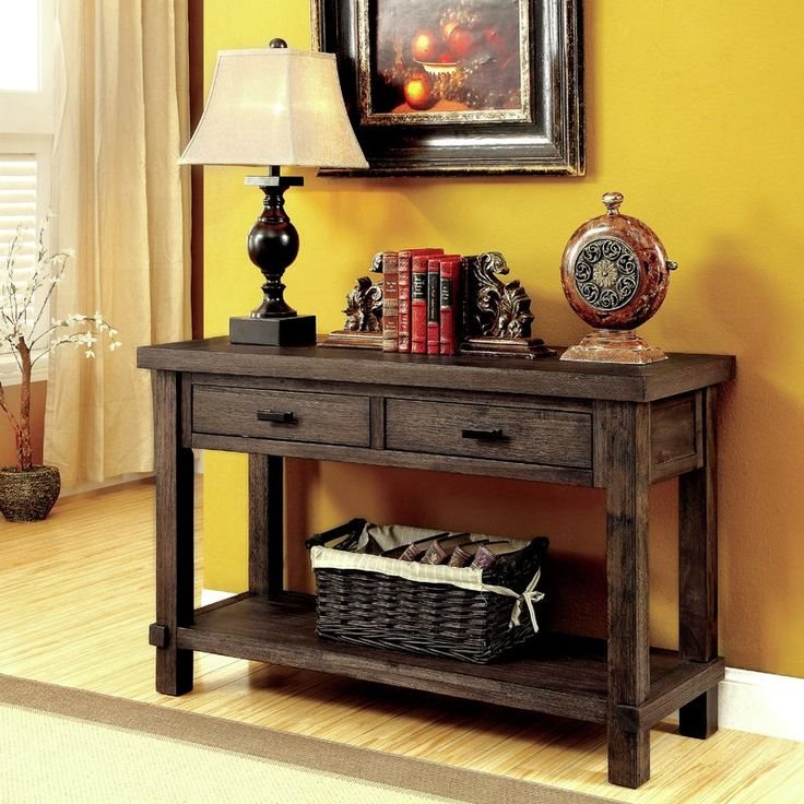 Matthews Transitional Console Table