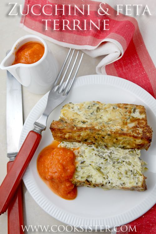 Eggplant And Red Pepper Terrine Recipe — Dishmaps