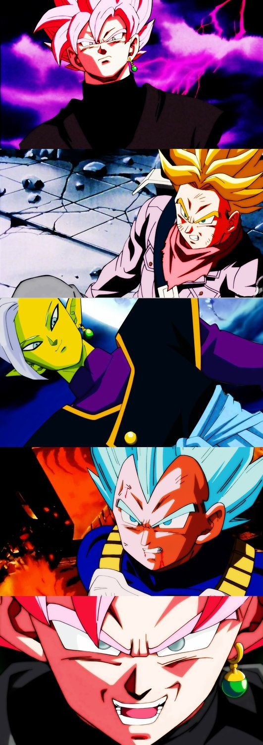 zamasu y black saga by salvamakoto.deviantart.com on @DeviantArt