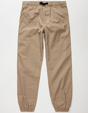 HOLLYWOOD Ripstop Boys Jogger Pants Beige
