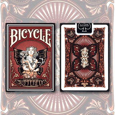 Butterfly Bicycle Deck by US Playing Card - Magic Tricks