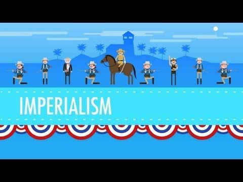 American Imperialism: Crash Course US History #28 - YouTube