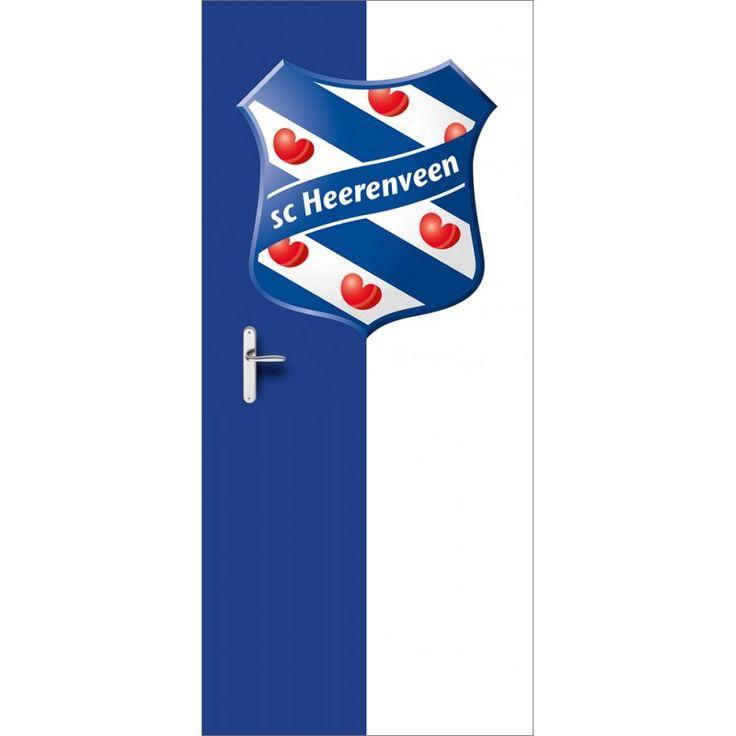 Deursticker SC Heerenveen | Een deursticker is precies wat zo'n saaie deur nodig heeft! YouPri biedt deurstickers zowel mat als glanzend aan en ze zijn allemaal weerbestendig! Verkrijgbaar in verschillende afmetingen.   #deurstickers #deursticker #sticker #stickers #interieur #interieurprint #interieurdesign #foto #afbeelding #design #diy #weerbestendig #scheerenveen #heerenveen #blauw #logo #embleem #club #voetbal #supporter #friesland #fryslan #fries #blauw #jongenskamer