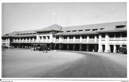 ASIE INDE PUNE POONA RAILWAY STATION GARE CARTE POSTALE PHOTO ECRITE 1968 - India