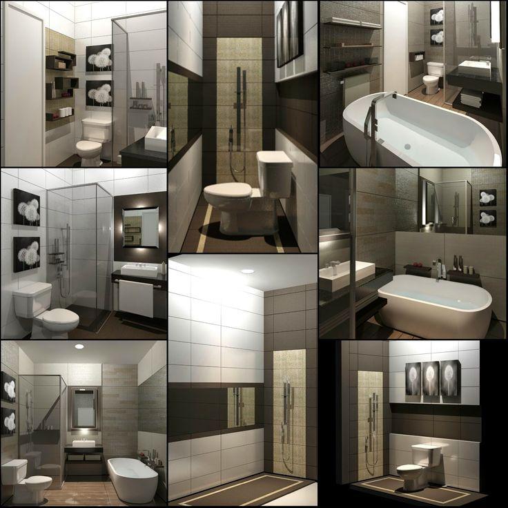 ARADES LIVING - FURNITURE & INTERIOR: Desain Interior Kamar Mandi untuk Rumah Tinggal di...