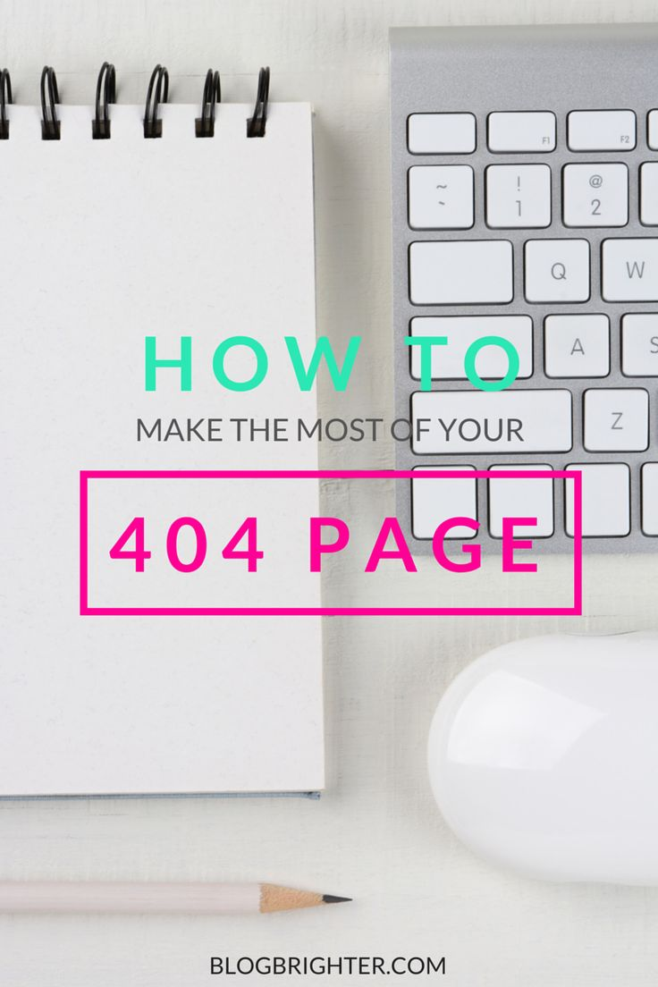 How to Make the Most of Your 404 Page - WordPress tips to design your 404 Error page. Using this blogging strategy and the appropriate plugins, you'll reduce your bounce rate and increase page views | blogbrighter.com