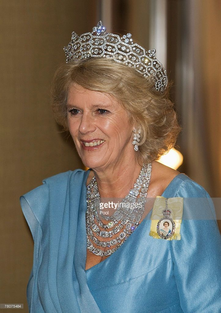 Camilla Duchess of Cornwall arrives at the Serena Hotel for The Queen's Banquet for Commonwealth...