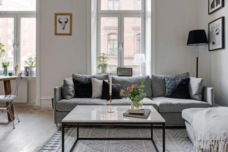 techos altos pisos antiguos estilo nórdico estilo escandinavo diseño interiores decoración nórdica blog decoración