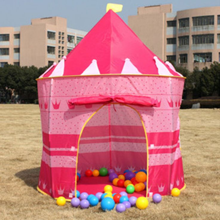 HOT Princess Castle Kid Baby Play Tent Playhouse Outdoor Indoor Tent Hut Den