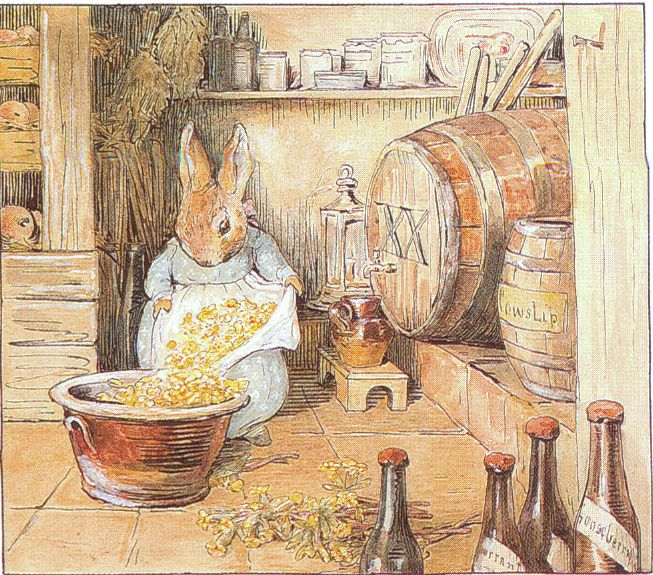 CECILY PARSLEY lived in a pen, And brewed good ale for gentlemen; - Cecily Parsley's Nursery Rhymes, 1922