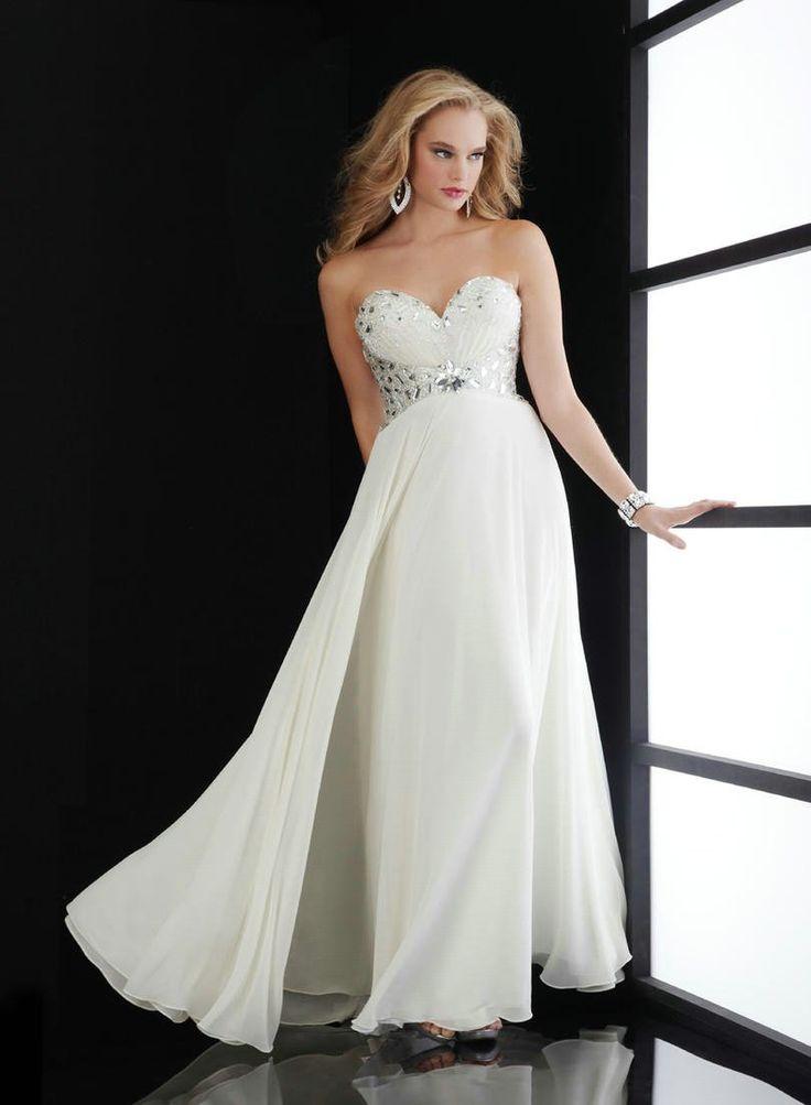 Sweeetheart-Rhinestone-Long-Chiffon-Party-Dress