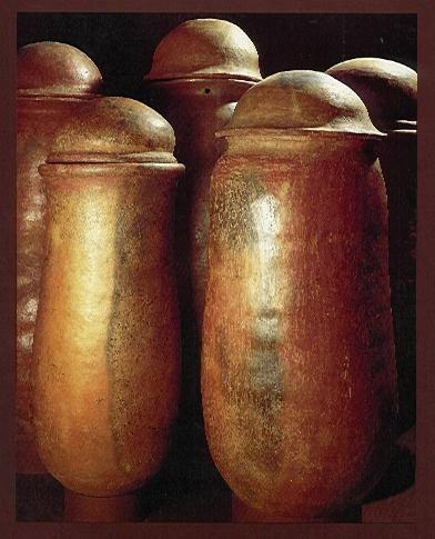 Urnas fálicas, de la cultura Calima - Precolombino