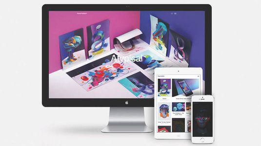 Build a beautiful web design portfolio with Semplice
