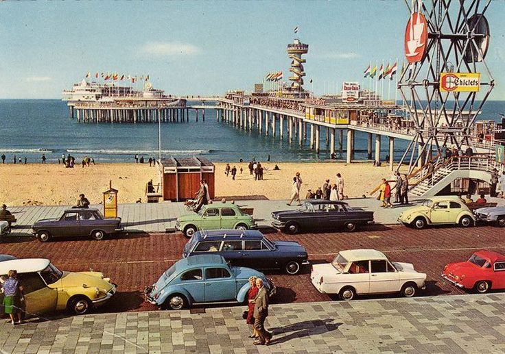 Scheveningen, Holland, midcentury | Hemmings Daily