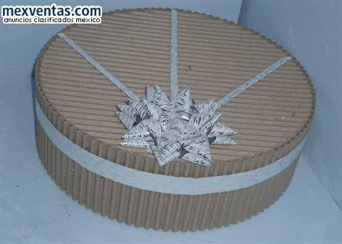 Foto cajas carton corrugado acetato