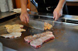Benihana's is known for their Hibachi steak. You can duplicate this at home.