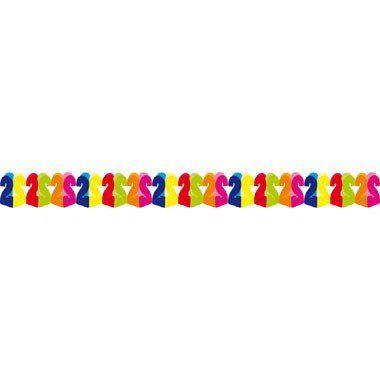 2 jaar papieren slinger - 6 meter  Deze slinger is een leuke versiering voor een 2-jarige verjaardag of jubileum.  EUR 2.45  Meer informatie