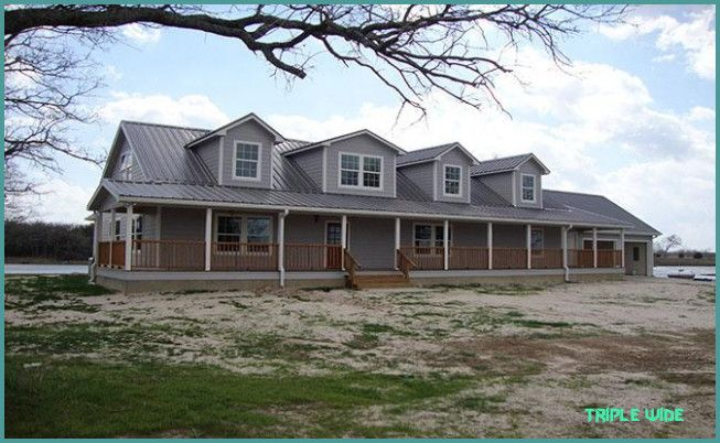 Is Triple Wide The Most Trending Thing Now Triple Wide Https Homenitro Com Is Triple Triple Wide Mobile Homes Mobile Home Floor Plans Modern Modular Homes