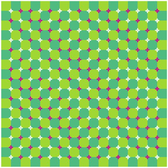 оптические иллюзии: волны