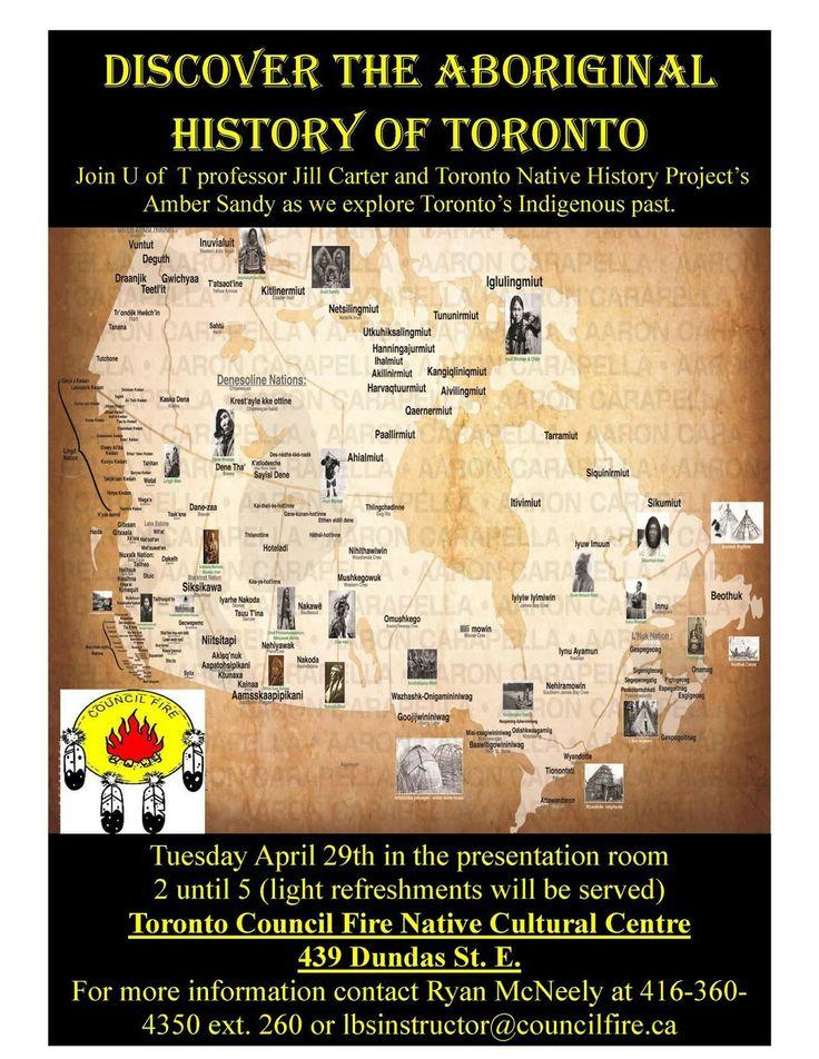 CHRISTINE'S BLOG: Event Posting: Discover the Aboriginal History of ...