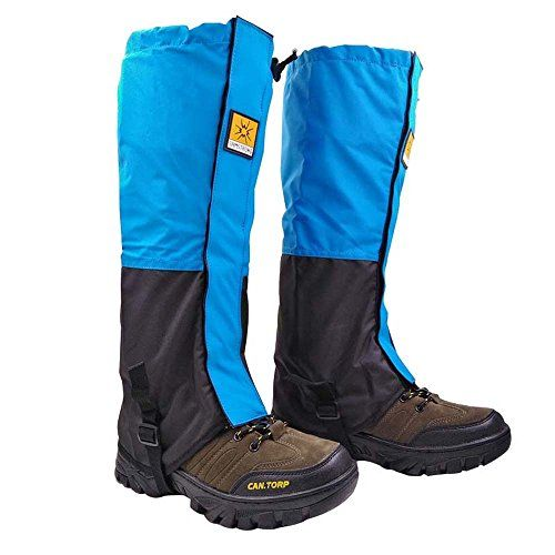 Waterproof Leg Gaiters for men and Womens Running Hiking Walking Mountaineering Lightweight Snowshoes Cover Boot High Gaiters - blue   http://huntinggearsuperstore.com/product/waterproof-leg-gaiters-for-men-and-womens-running-hiking-walking-mountaineering-lightweight-snowshoes-cover-boot-high-gaiters/?attribute_pa_color=blue