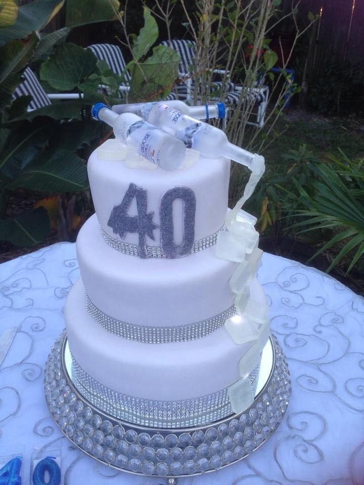 40th birthday cake 40th birthday cakes cake 40th birthday