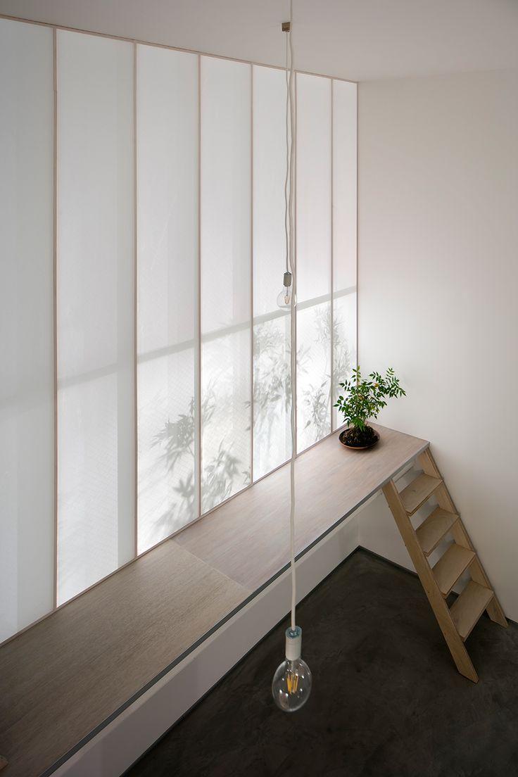 yoshiaki yamashita shoji screen house osaka city japan designboom