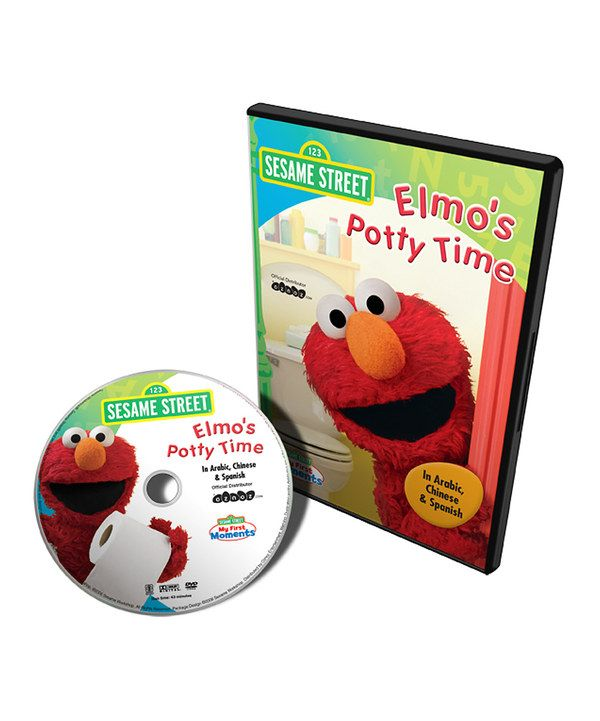 Take a look at this Elmo's Potty Time Arabic, Chinese & Spanish DVD on zulily today!