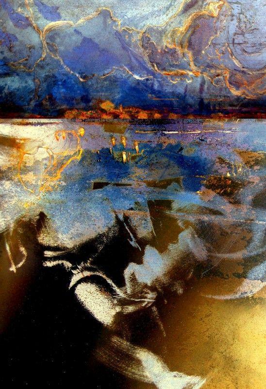 Abstract Landscapes | Gekido by Luann Ostergaard